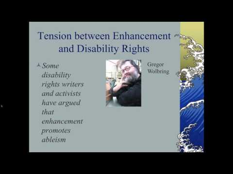 Human Enhancement and Disability Rights