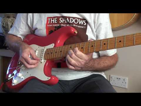 Sleepwalk. The Shadows Original Cover. By Phil McGarrick.Free BT & Tabs