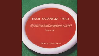 Cello Suite No. 5 in C Minor, BWV 1011: VI. Gavotte I (Trans. for Piano by Leopold Godowsky)