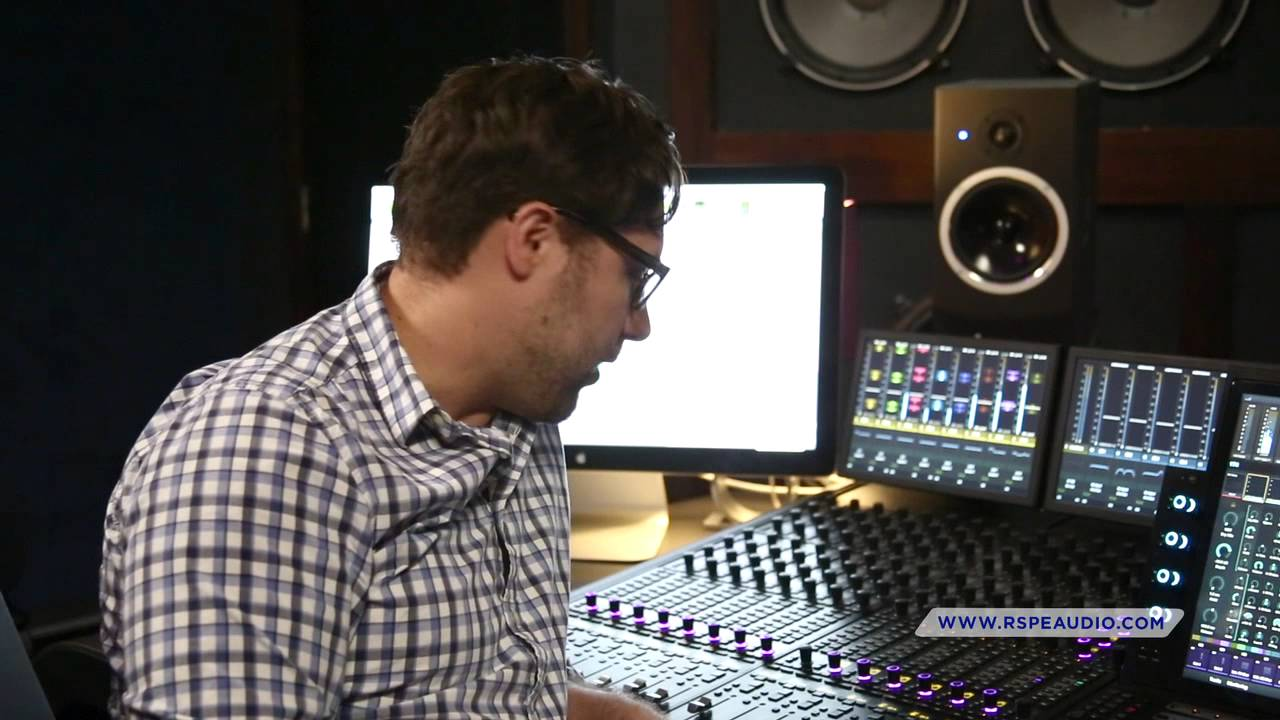 Avid S6 - First Impression: Sound Designer Nathan Ruyle - RSPE Audio