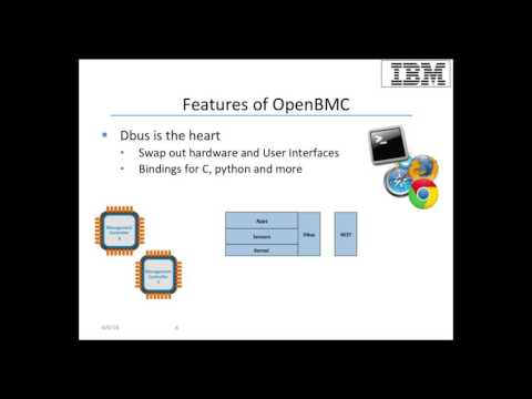 OpenPOWER Summit 2016 - OpenBMC, A reference firmware stack