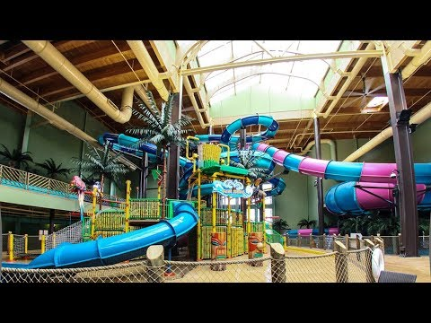 Maui Sands Resort & Indoor Water Park, Sandusky, Ohio, USA