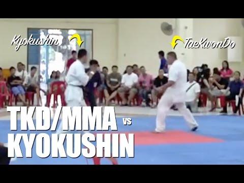 Taekwondo Blackbelt MMA Enters Kyokushin Tournament