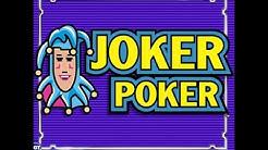 Joker Poker Progressive Video Poker Machine