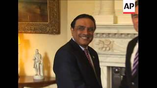 British PM Brown meets Pakistan