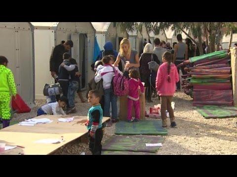 Go inside Syrian refugee camp in Greece