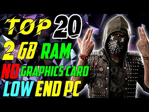 TOP 20 EPIC GRAPHICS Games For LOW END 2GB RAM PC WITHOUT GRAPHICS CARD 2020 (9-SEPTEMBER) | 60+ FPS thumbnail