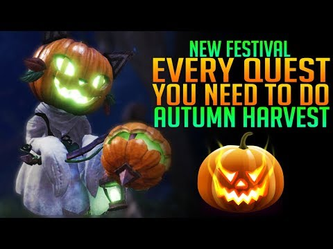 MHW Autumn Harvest Festival Quest Guide - Monster Hunter World PS4/Xbox