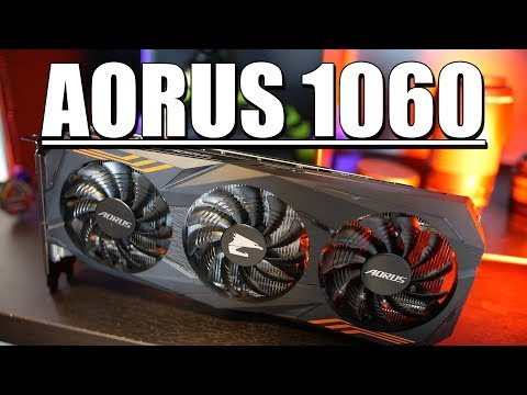 Gigabyte Aorus GTX 1060 9Gbps Edition!