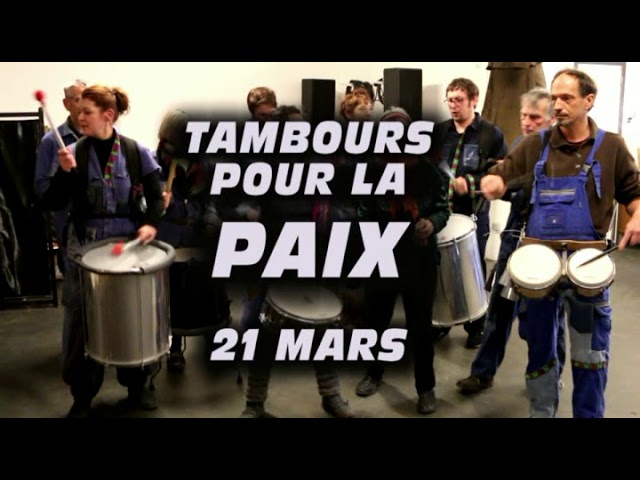 21 mars 2018 - Tambours pour la paix