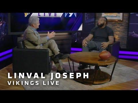 Linval Joseph Explains The Oxygen Tank, Mentoring Hunter, Weatherly's Success   Minnesota Vikings