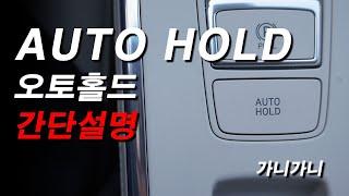 ★오토홀드 (AUTO HOLD) 사용방법★ - 가니가니