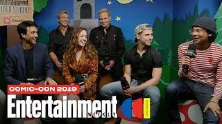 'Cobra Kai' Star Ralph Macchio & Cast Join Us LIVE | SDCC 2019 | Entertainment Weekly