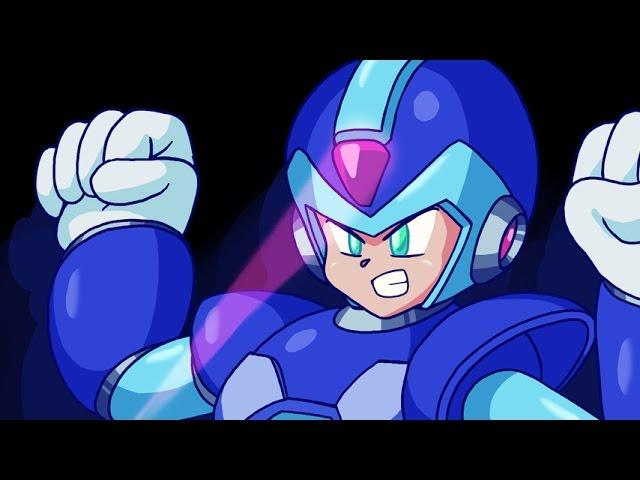 MegaPhilX Draws X (Mega Man X)
