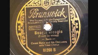 Count Basie -- I may be wrong (Boogie Woogie)