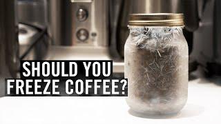 Should you freeze coḟfee beans?