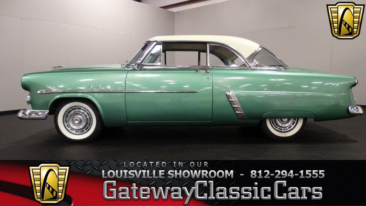 1952 Ford Crestline Victoria Louisville Showroom Stock 1097 1953 Crown Skyliner