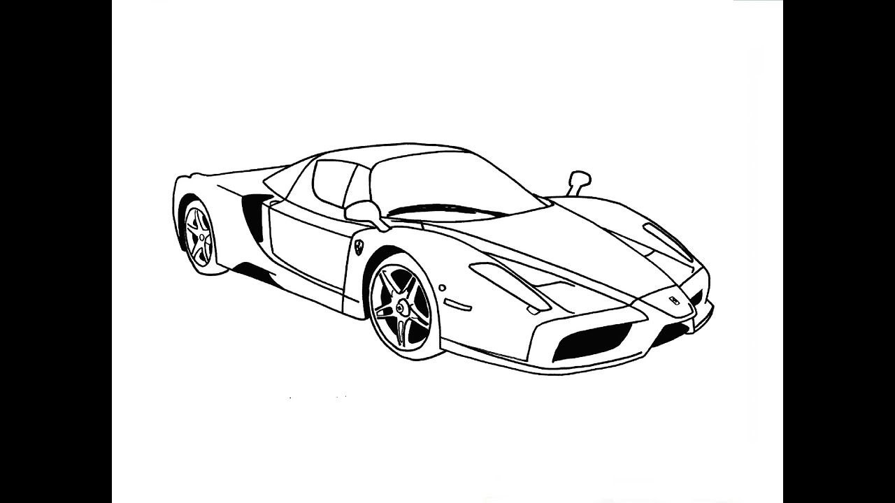 speed drawing ferrari enzo youtube. Cars Review. Best American Auto & Cars Review