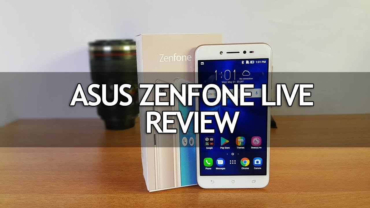 ASUS Zenfone Live (ZB501KL) Full Review - Pros and Cons