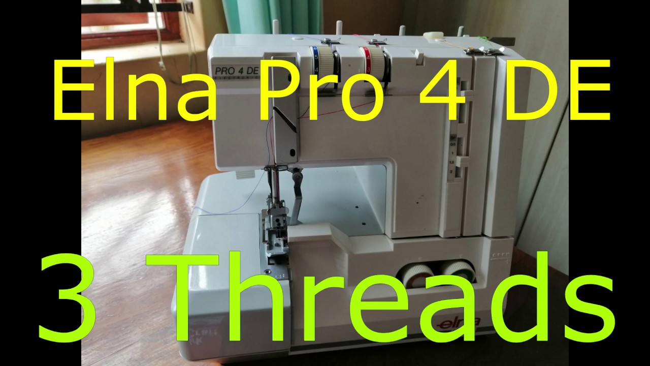 Elna Nähfuss Standart für Overlock Elna Pro 4DC Pro 4DE