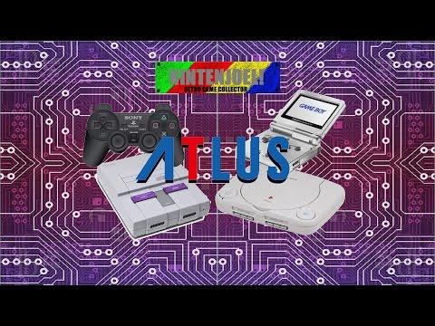 10 Must Play Games By Atlus! Nintenjoel