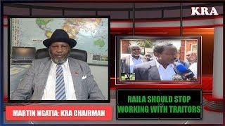 Raila Odinga Should Stop Working with Traitors Like Kalonzo - Martin Ngatia