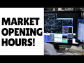 Lesson 14: What are the best times of day for trading forex?