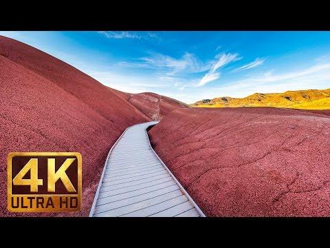 Breathtaking Painted Hills, Oregon - Trailer - 4K (UHD)