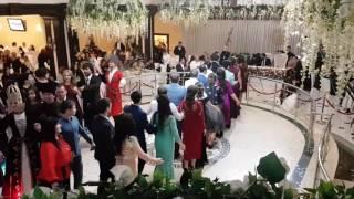 Свадьба Альберта и Нарины Азаматовых в ресторане