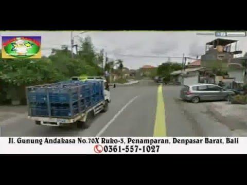 Satelite Maps Video To Kedai Lombok - Penamparan Denpasar Barat