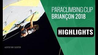 Paraclimbing Cup Briançon 2018 - Finals Highlights