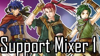Fire Emblem: Path of Radiance SUPPORT MIXER #1: Reviewing 4 Random FE9 Support Conversations