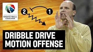 Dribble Drive Motion Offense - Vance Walberg - Basketball Fundamentals