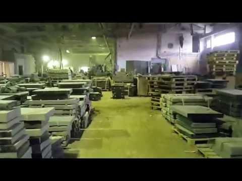 Один из цехов по изготовлению гранитных памятников компании Данила-Мастер, ООО.