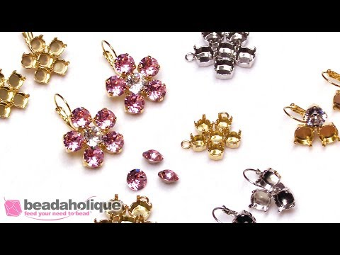 How To Set Multiple Swarovski Crystals In Prong Gita Jewelry Settings