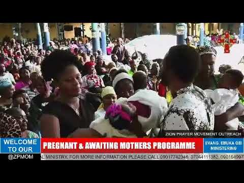 Download PREGNANT & AWAITING MOTHERS PROGRAMME. 19TH OCT 2021