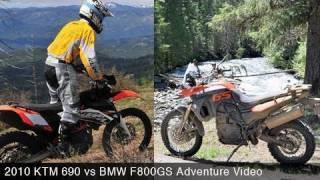 2010 KTM 690 vs. BMW F800GS Adventure - MotoUSA