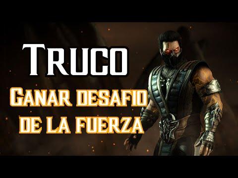 Desafio de la fuerza sin perder Mortal Kombat XL | Desbloquear a Sub Zero retornado