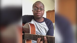 David sikabwe's version of the song has been retweeted by celebrities such as lin-manuel miranda and james corden. story: https://www.kvue.com/article/entert...