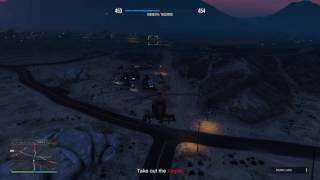Grand Theft Auto V Online - Mission: Crystal Clearout iii (Non-Contact/Buzzard)