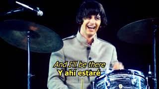 Anytime at all - The Beatles (LYRICS/LETRA) [Original]