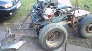 Мини трактор своими руками из мотоблока