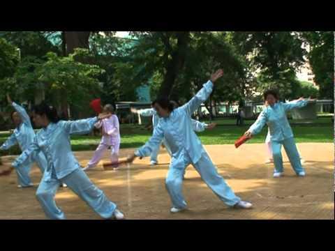 Thái cực phiến 72 thức ( Tập thể ) - CLB DS Quan Tâm Tao Đàn, Q1