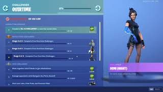 Fortnite NEW OVERTIME CHALLENGES | FREE SKIN STYLES | Season 9