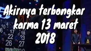BOCAH DESO BONGKAR RAHASIA KARMA ANTV 13 MARET 2018