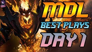 MDL Macau Minor BEST PLAYS DAY 1 Highlights Dota 2 by Time 2 Dota #dota2