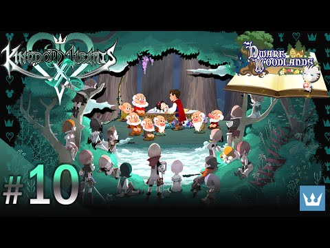 #10 - KINGDOM HEARTS χ [chi] - English Walkthrough — Dwarf Woodlands, Part 3 - Ending