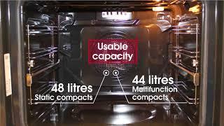 видео Встраиваемая микроволновая печь Teka MWE 207 FI Stainless steel