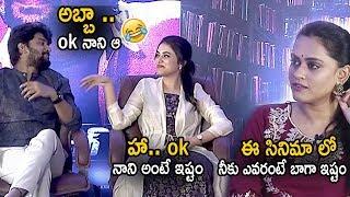 Nani Hilarious Fun With Heroine At Gang Leader Interview | Karthikeya | Cinema Culture