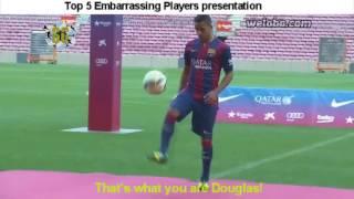 Top 5 embarrassing players presentation/presentacion - Theo Hernandez... thumbnail